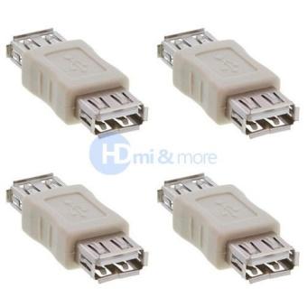 4 Pcs USB A Female to USB A Female Coupler USB 2.0 Adapter - intl - 8415854 , OE680ELAA96UJGVNAMZ-18195066 , 224_OE680ELAA96UJGVNAMZ-18195066 , 511560 , 4-Pcs-USB-A-Female-to-USB-A-Female-Coupler-USB-2.0-Adapter-intl-224_OE680ELAA96UJGVNAMZ-18195066 , lazada.vn , 4 Pcs USB A Female to USB A Female Coupler USB 2.0 Ada