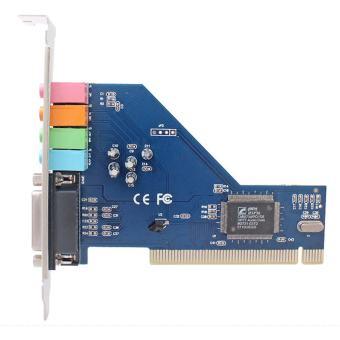 4.0 Channel Surround 3D PCI Sound Audio Card for Desktop Computer