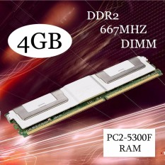 4GB DDR2 PC2-5300F 667MHz DIMM 240PIN CL5 ECC Server RAM Memory For Desktop White – intl