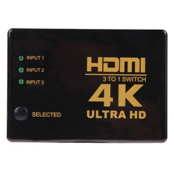 4K 2K 3in 1out HDMI Switch Hub Splitter TV Switcher Ultra HD for HDTV PC