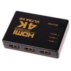 4 k 2 k 3in 1out Bộ chia kênh HDMI Switcher TV Ultra HD cho Máy tính doanh nghiệp HDTV
