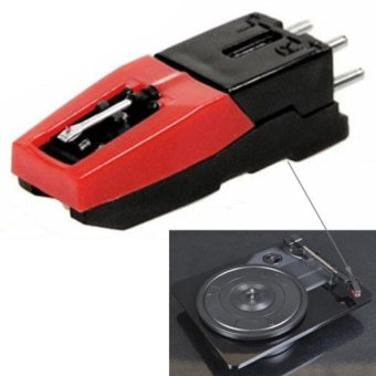 Khuyến mãi 4PCS Stereo Stylus Needle for Vinyl LP USB Turntable Turnplate Excellent Sound Quality – intl