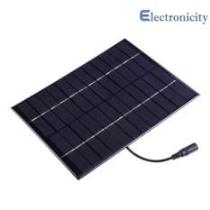 Mua 5.2 wát 12 v Pin Năng Lượng Mặt Trời DC Đầu Ra Sạc Pin DÙNG Công Suất Bảng Điều Khiển – quốc tế Tại electronicity