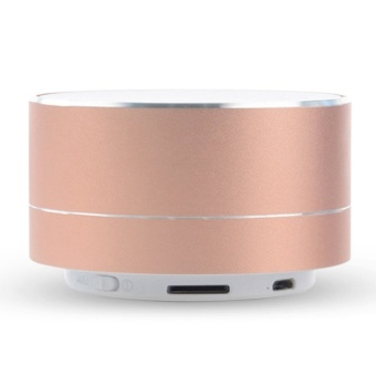 A10 Wireless Bluetooth Portable Speaker Metal Stereobass(RoseGolden) - intl - 8413311 , OE680ELAA8XQMYVNAMZ-17553195 , 224_OE680ELAA8XQMYVNAMZ-17553195 , 546840 , A10-Wireless-Bluetooth-Portable-Speaker-Metal-StereobassRoseGolden-intl-224_OE680ELAA8XQMYVNAMZ-17553195 , lazada.vn , A10 Wireless Bluetooth Portable Speaker Metal