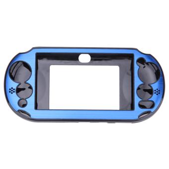 Aluminum Skin Case Cover Shell for Sony PS Vita 2000(Navy Blue) -intl