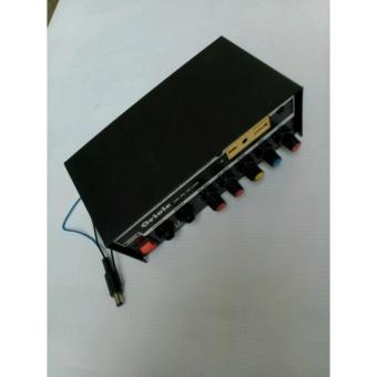 ÂM LY MINI NGUỒN 12V PA 10 USB
