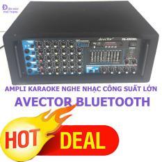 So Sánh Giá Ampli karaoke Amply nghe nhạc gia đình BLUETOOTH AVECTOR 4000BL karaoke cực hay