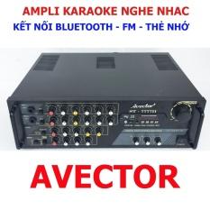 Ampli karaoke bluetooth Amply nghe nhạc gia đình BLUETOOTH AVECTOR 7777II karaoke cực hay