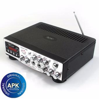Amply Karaoke Kinter 009 12V Điều khiển từ xa có chọn tone cho giọng nét hơn