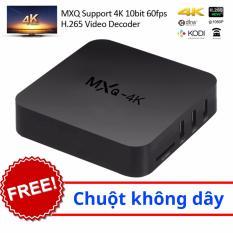 Android box biến tivi 4K thường thành smart tivi – MXQ 4K + chuột không dây Tại Hàng thật giá thật giá bao nhiêu?