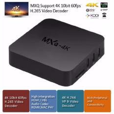 Chỗ bán Android Box TV – MXQ 4K Cải tiến 2017 _ Nâng cấp TV thành smart TV