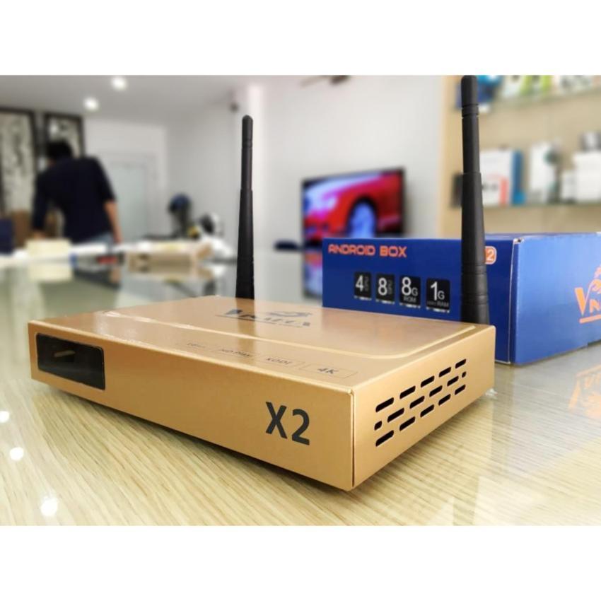Android tivi box Vinabox X2 - Ram 1Gb - Rom 8GB ( Phiên bản Việt )