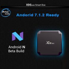 Địa Chỉ Bán Android tivi box X96 phiên bản Ram 2Gb – Rom 16GB – Android 7.1.2