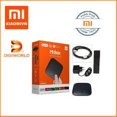 Android Tivi Box Xiaomi Mibox 4k Global Tiếng Việt (Digiworld phân phối)