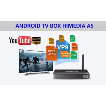 Android TV Box HIMEDIA A5 (Đen)