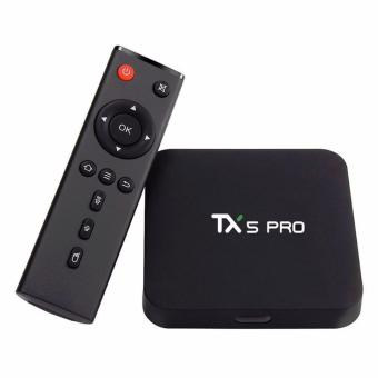 Android TV Box TX5 Pro - Android 6.0, RAM 2G, ROM 16G (Đen)