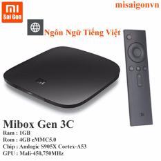 Android Xiaomi Mibox Gen 3c (Đen)(Đen)