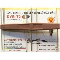 Anten Mini KTS gắn trong nhà và ngoài trời- có mạch khuyếch đại + Cáp cấp nguồn anten USB