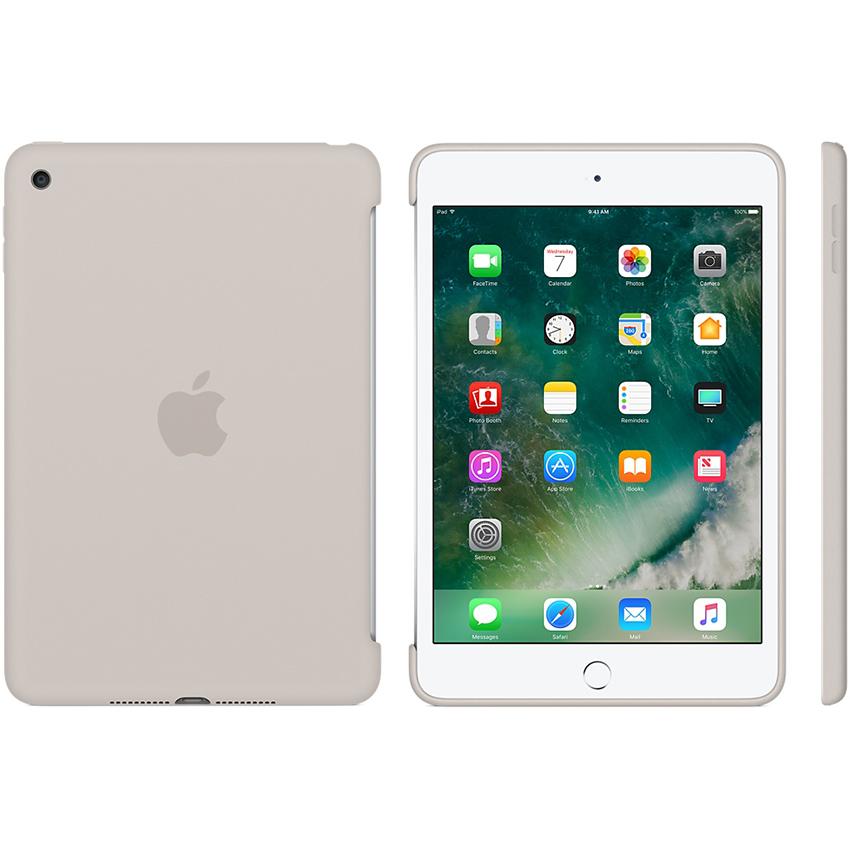 Ốp Lưng Apple iPad mini 4 Silicone Case Stone - Hàng Chính Hãng
