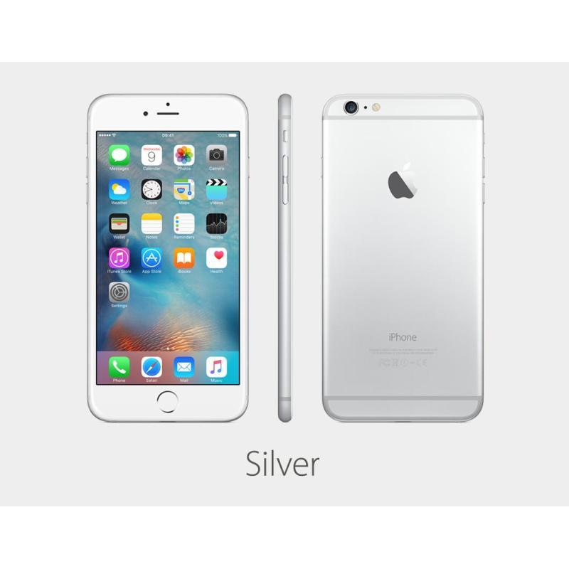 APPLE IPHONE 6 PLUS 16GB BẠC nhập khẩu CPO + 1 gói bảo hành 1 đổi 1 12 tháng