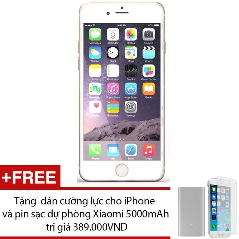 Apple iPhone 6S Plus 128GB (Vàng) + Tặng 1 dán cường lực cho iPhone và 1 pin sạc dự phòng Xiaomi 5000mAh - Hàng nhập khẩu