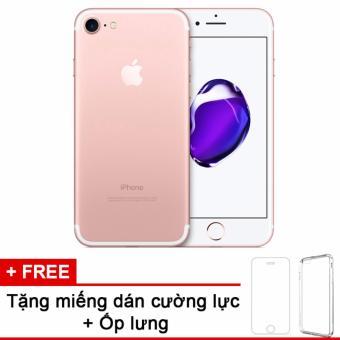 Apple iPhone 7 32GB Hồng - Hàng nhập khẩu quốc tế + Miếng dán cường lực + Ốp lưng
