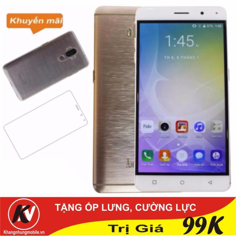 Arbutus Max 7S 16GB Khang Nhung (Vàng) - Hàng nhập khẩu + Cường lực + Ốp lưng