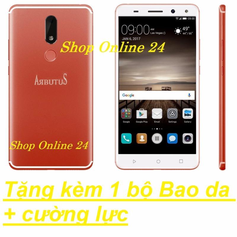Arbutus Max 8s 32G Ram 2GB (Đỏ) + Bao Da + Cường lực - Hàng nhập khẩu