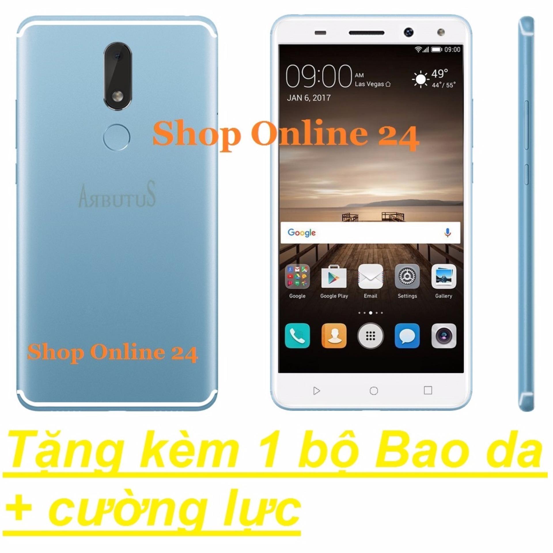 Arbutus Max 8s 32G Ram 2GB (Xanh) + Bao Da + Cường lực – Hàng nhập khẩu