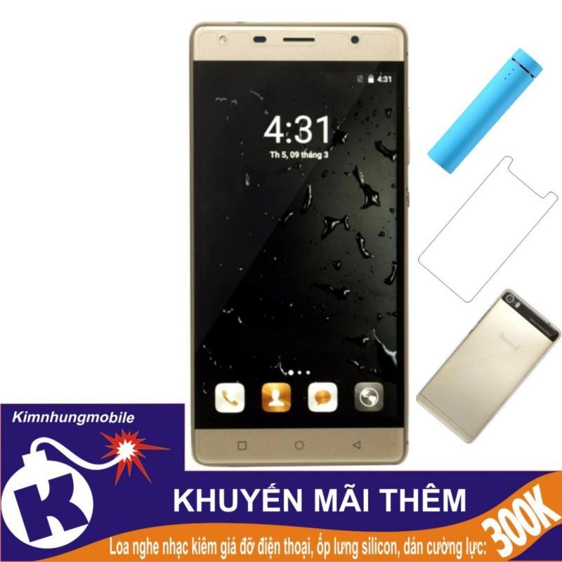 Arbutus Max Pro 16GB (Vàng) - Hàng nhập khẩu + Dán cường lực + Ốp lưng silicon + Loa 3 in 1