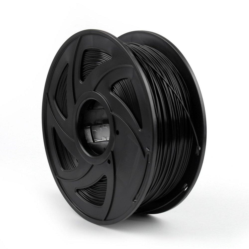Đánh giá Areyourshop 3D Printer Filament 1.75mm PLA 1kg/2.2lb For Drawing Printer Pen MakerBot Black Tại Areyourshop