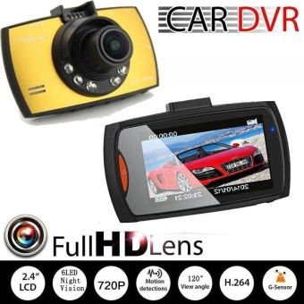 Auto Car 2.7 Inch Driving Video Recorder Camera Camcorder NightVision - intl