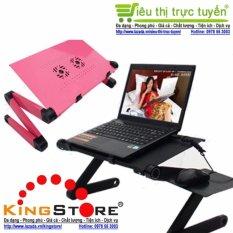 Bàn để Laptop tùy chỉnh đa năng gấp và xoay 360 độ tiện ích cho cuộc sống hiện đại (Đỏ/Hồng) – Siêu thị trực tuyến