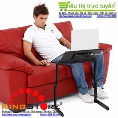 Bàn để Laptop tùy chỉnh đa năng gấp và xoay 360 độ tiện ích cho cuộc sống hiện đại – KingStore (Đen/Black)