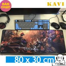 Bàn di chuột KAVI, miếng lót chuột cỡ lớn 80x30cm cho game thủ Việt (Nhiều hình)