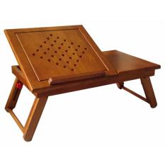 Bàn laptop bằng gỗ (Vàng cánh gián)