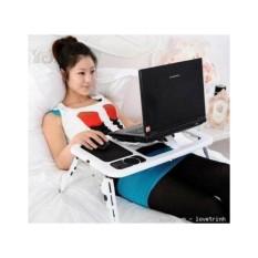 Bàn Laptop Đa năng E-Table Có Quạt Tỏa Nhiệt – Có Thể Gập Lại