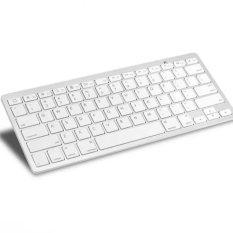 Giá Khuyến Mại Bàn phím Bluetooth dùng cho máy tính bảng, điện thoại tabs keyboard (Trắng)
