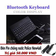 Bàn phím Bluetooth New4all KYZ11 + Tặng đèn pin mini siêu sáng
