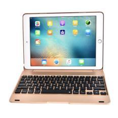 Bàn Phím F19 GEX Kiêm Ốp Lưng IPad Pro 9.7 inches / iPad Air 2 (Vàng đồng)