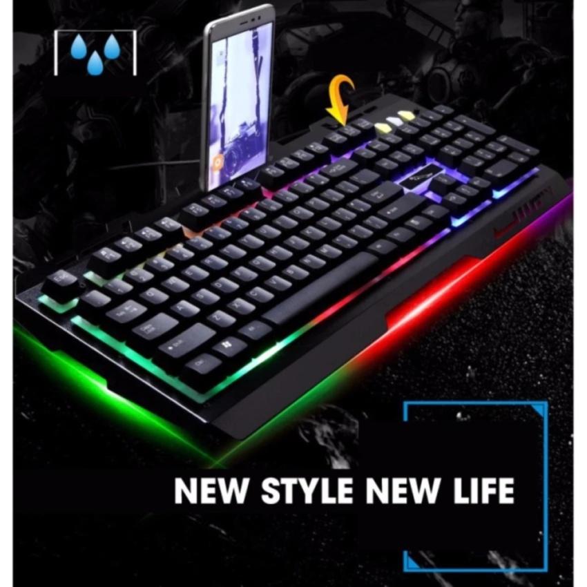 Bàn phím game đổi màu G700 Led giả cơ siêu đẹp