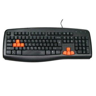 Bàn phím game thủ có dây NEWMEN Wire E835 cổng USB (Đen) - Hãng phân phối chính thức
