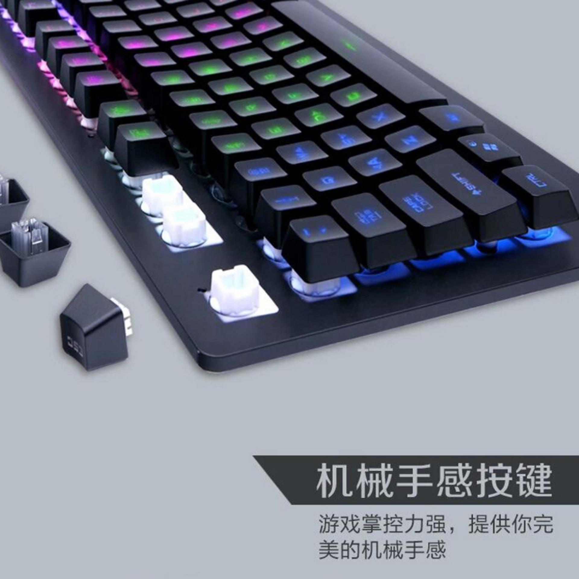 Bàn phím giả cơ Eweadn GX50s (đen)