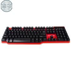 Bàn phím giả cơ Motospeed K68 (Đỏ đen) – Hãng phân phối chính thức