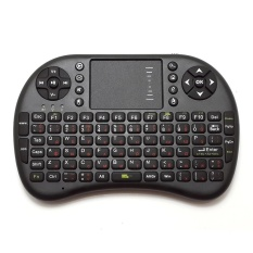 Bàn phím kiêm chuột không dây UKB KM-500 Mini Keyboard (Đen)