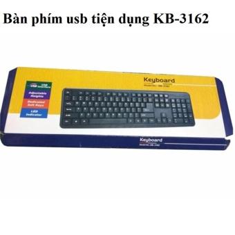 Bàn phím USB cao cấp KB -3162 - 8401950 , OE680ELAA5PM8ZVNAMZ-10481959 , 224_OE680ELAA5PM8ZVNAMZ-10481959 , 99000 , Ban-phim-USB-cao-cap-KB-3162-224_OE680ELAA5PM8ZVNAMZ-10481959 , lazada.vn , Bàn phím USB cao cấp KB -3162