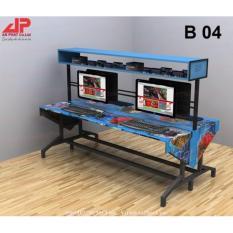 Bàn Phòng Game Net Đóng Hộp AP-04
