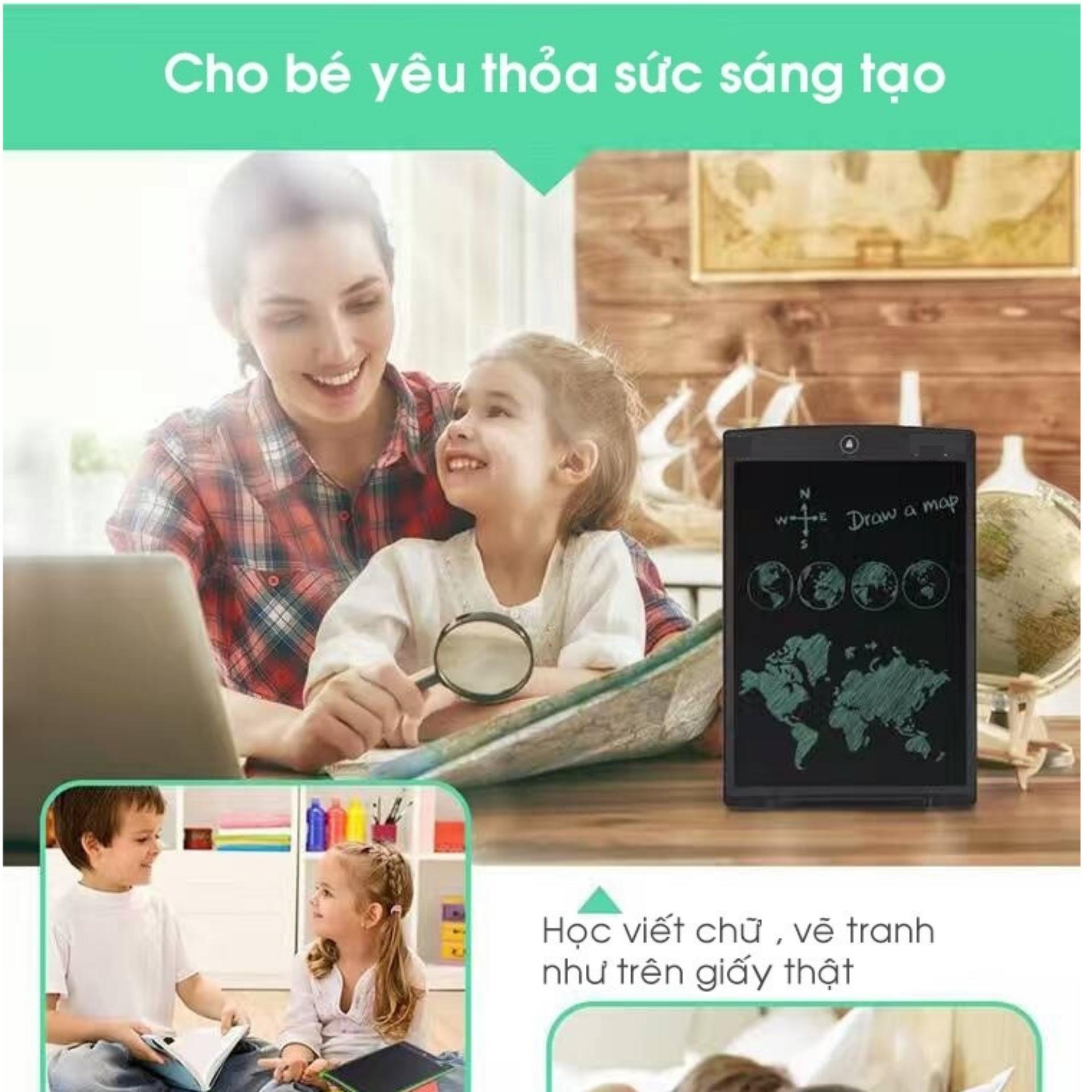 Mua Bảng viết vẽ điện tử LCD writing tablet 8.5 inch cho bé sáng tạo không giới hạn Tại New World shop