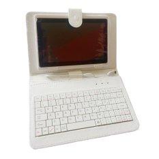 Bao da kiêm bàn phím máy tính bảng 7 inch Hola (Trắng)