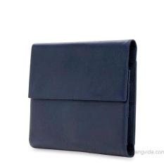 Bao Da iPad kiêm Túi Ví Doanh Nhân Đa Năng Đựng Điện Thoại Và Máy Tính Bảng iPhone iPad Samsung (Nâu + Xanh Navy + Đen)
